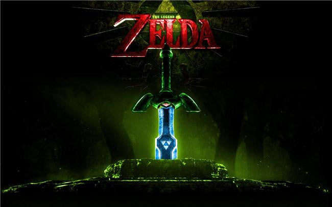 Legend Of Zelda Silk Print Game Poster 072