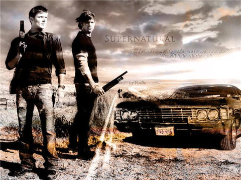 Supernatural Silk Print TV Shows Poster 089