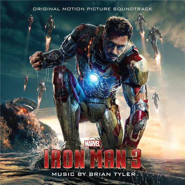 Iron Man 3 Silk Print Movies Poster 057