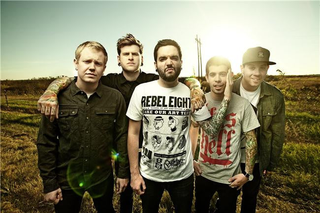 A Day to Remember Silk Print Music Poster 001