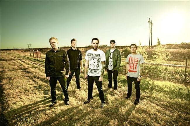 A Day to Remember Silk Print Music Poster 017