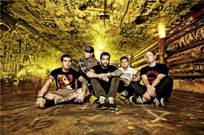 A Day to Remember Silk Print Music Poster 018