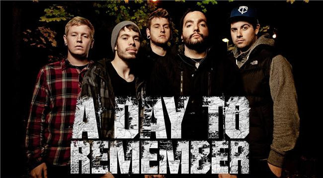 A Day to Remember Silk Print Music Poster 019