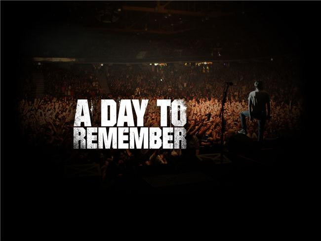 A Day to Remember Silk Print Music Poster 022