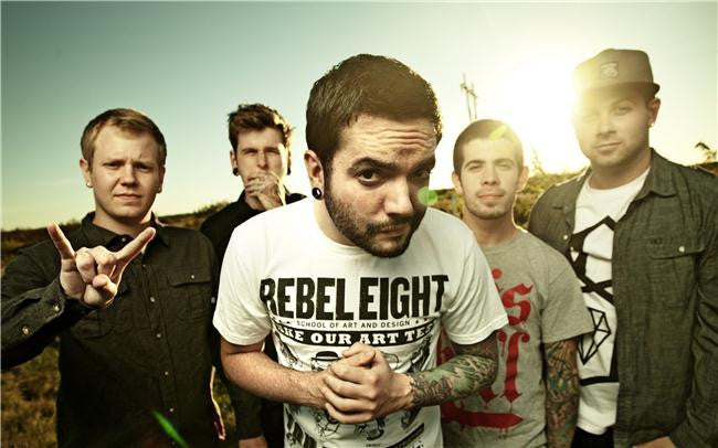 A Day to Remember Silk Print Music Poster 025