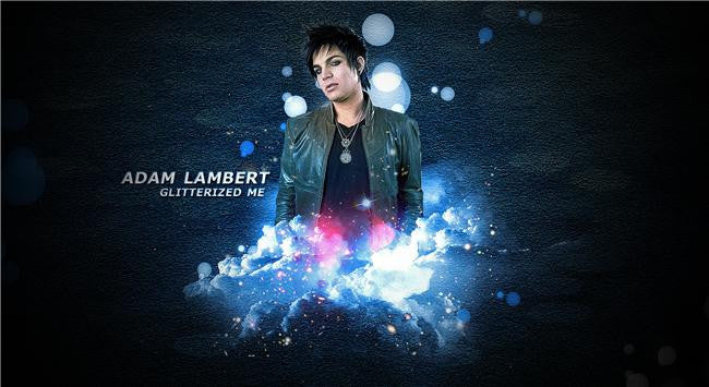 Adam Lambert Silk Print Artists Poster 026