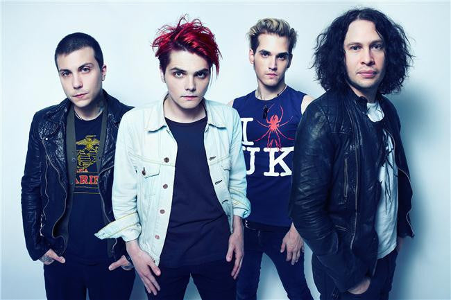 My Chemical Romance Silk Print Music Poster 023