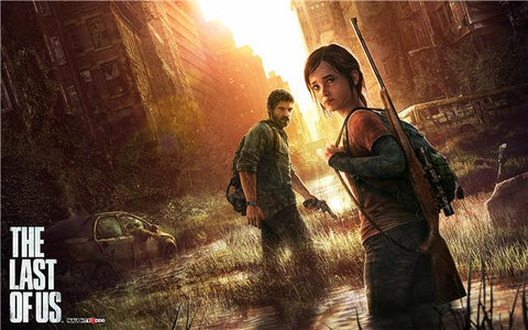 The Last of Us Silk Print Games Poster 029