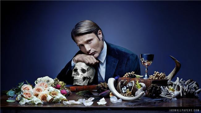 Hannibal Silk Print TV Shows Poster 018
