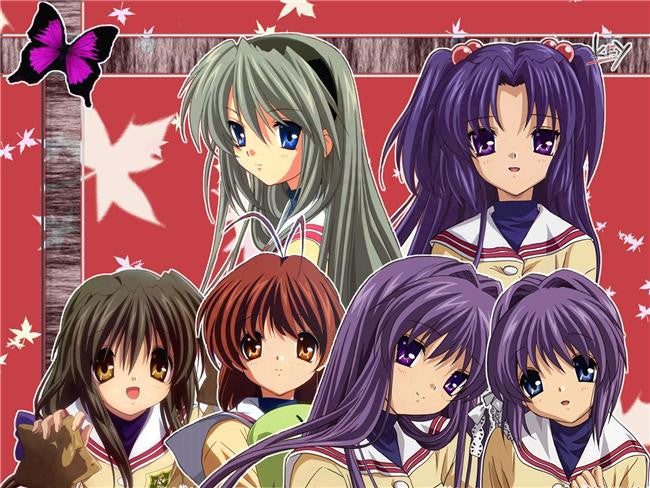 Clannad Anime Silk Print Poster 137