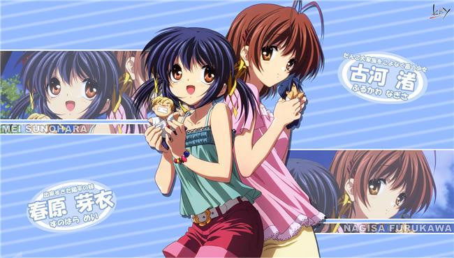 Clannad Anime Silk Print Poster 204
