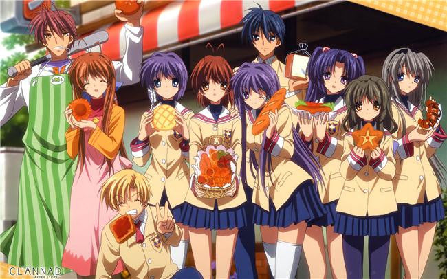 Clannad Anime Silk Print Poster 215