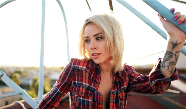 Alysha Nett Silk Print Artists Poster 014