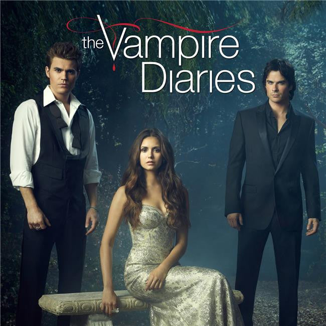 The Vampire Diaries Season 5 Silk Print TV Shows Poster 007
