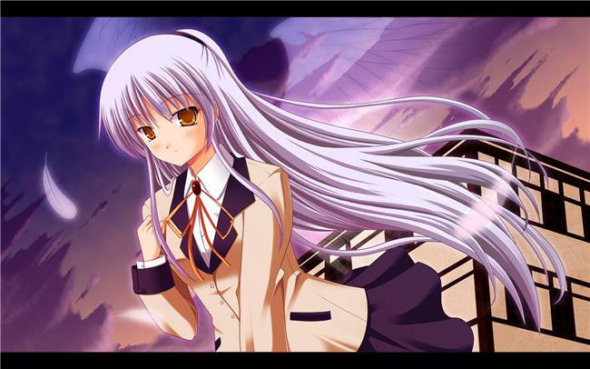 Angel Beats Silk Print Animes Poster 105