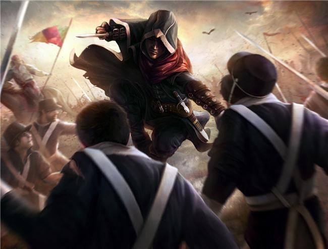 Assassins Creed Brotherhood Silk Print Games Poster 128