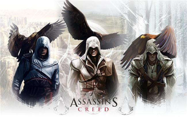 Assassins Creed Brotherhood Silk Print Games Poster 150