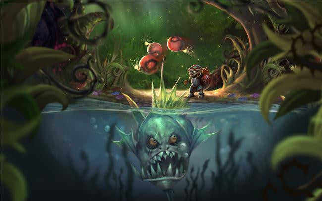 League Of Legends Silk Print Games Poster 071