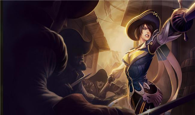 League Of Legends Silk Print Games Poster 084