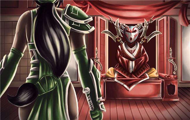 League Of Legends Silk Print Games Poster 103