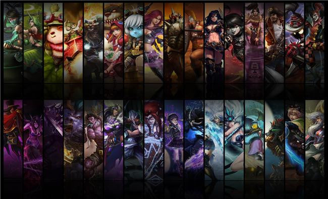 League Of Legends Silk Print Games Poster 121
