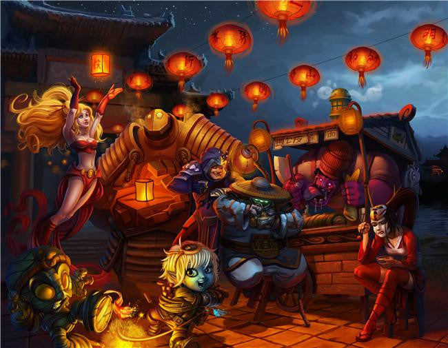 League Of Legends Silk Print Games Poster 149
