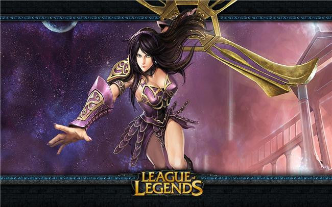 League Of Legends Silk Print Games Poster 177