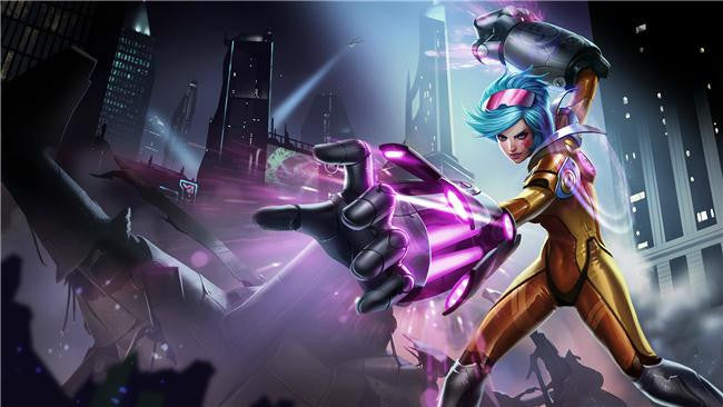 League Of Legends Silk Print Games Poster 232