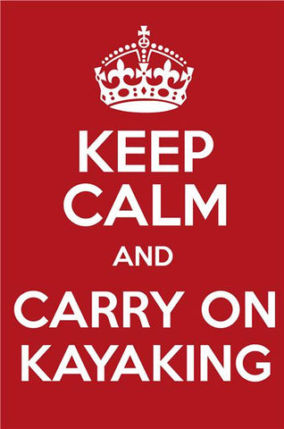 Keep Calm and Carry On Silk Print Motivational Poster 012