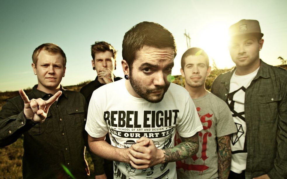 A Day to Remember Music Silk Print Poster 025