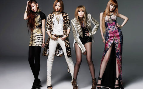 2NE1 K-pop Silk Print Music Poster 000