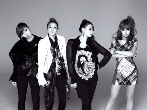 2NE1 K-pop Silk Print Music Poster 001