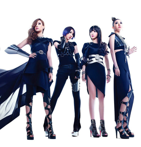 2NE1 K-pop Silk Print Music Poster 004