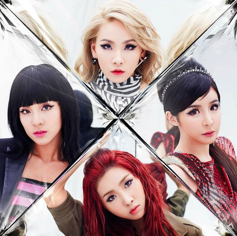 2NE1 K-pop Silk Print Music Poster 006