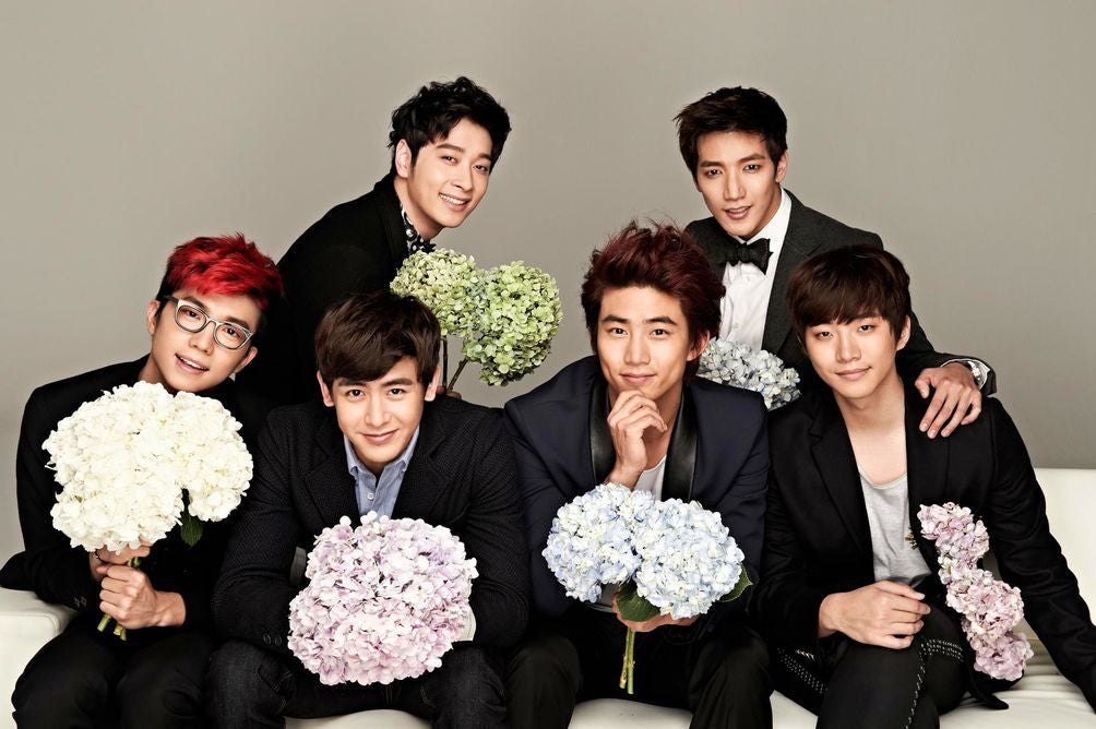 2PM K-pop Silk Print Music Poster 002