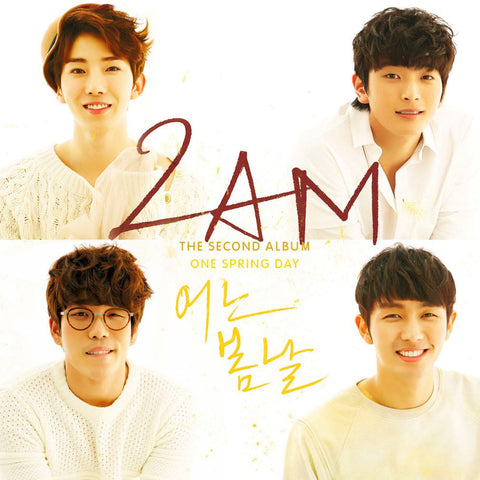 2AM K-pop Silk Print Music Poster 003