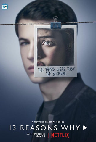 13 Reasons Why Season 2 Silk Print TV Shows Poster 004
