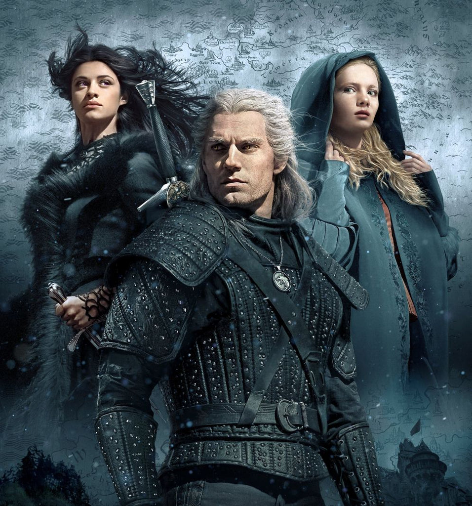The Witcher Season 1 TV Show Silk Print TV Shows Poster 001