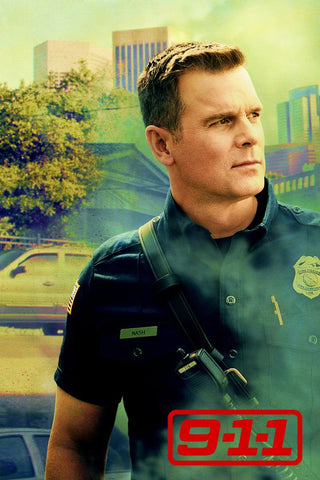 9-1-1 Season 1 Silk Print TV Shows Poster 014