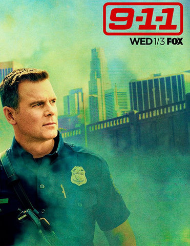 9-1-1 Season 3 Silk Print TV Shows Poster 003