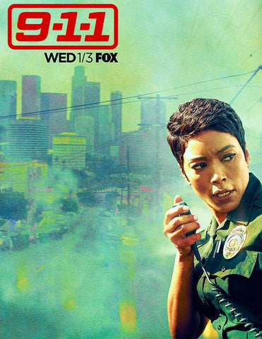 9-1-1 Season 3 Silk Print TV Shows Poster 001