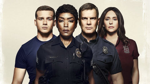 9-1-1 Season 3 Silk Print TV Shows Poster 007