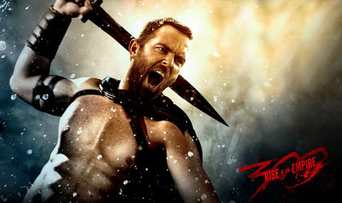 300 Rise of an Empire Silk Print Movie Poster 002