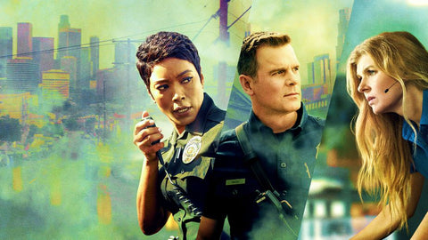 9-1-1 Season 1 Silk Print TV Shows Poster 016