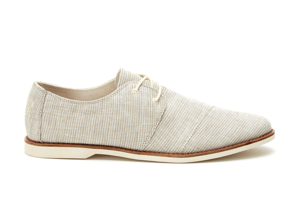 LIGHT GREY PINSTRIPE MEN'S HENSLEYS