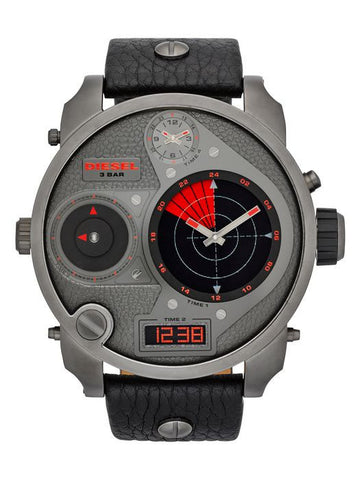 Diesel Large Gun Metal Watch
