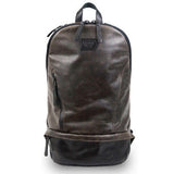 LEATHER BOMBER BACKPACK