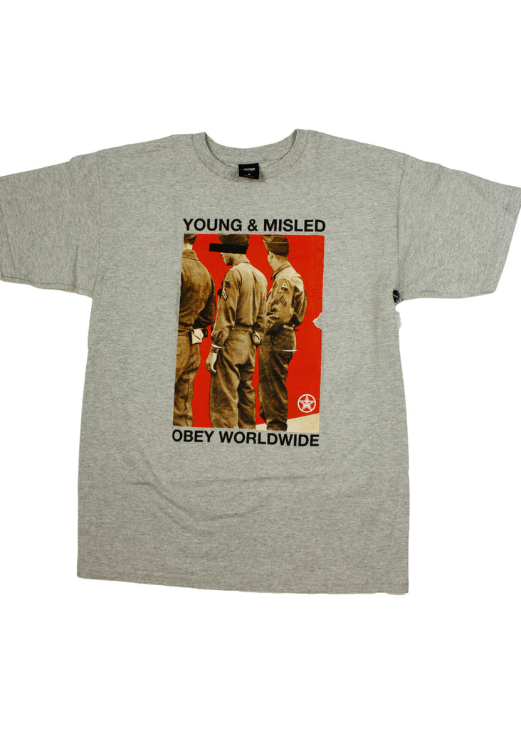 Young & Misled SHS Tee