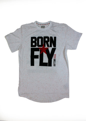 BORN FLY LONGHORN TEE