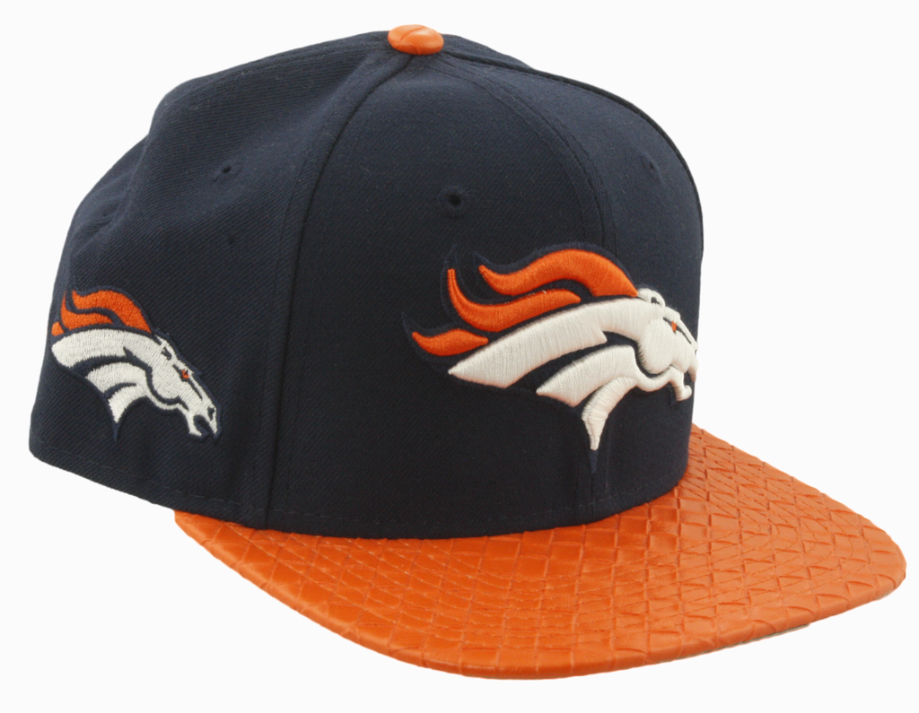 Denver Broncos NFL Logo Grand 9FIFTY Snapback Cap